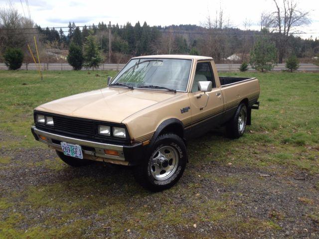 1984 Dodge D 50 Turbo Diesel 4x4 Rebuilt Engine And Great