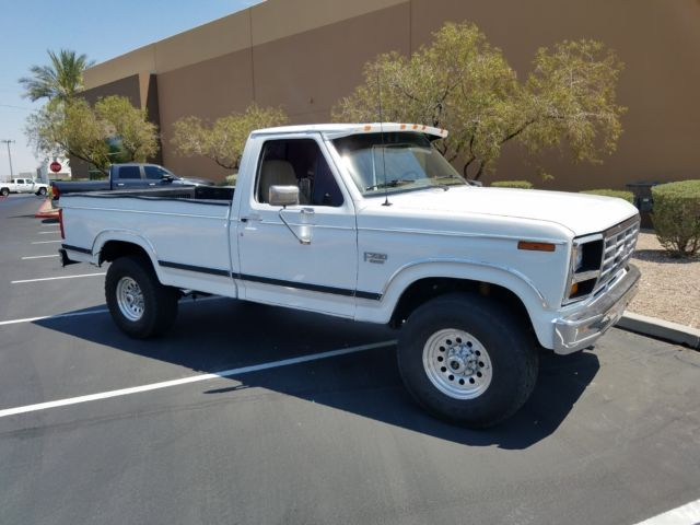 1984 Ford F 250 4x4 Xlt Lariat For Sale Ford F 250