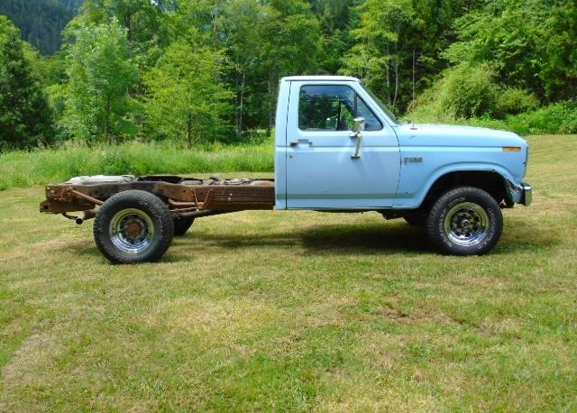 1984 ford f250 6 9 diesel 4x4 pickup truck ton manual for sale ford f 250 1984 for sale in. Black Bedroom Furniture Sets. Home Design Ideas