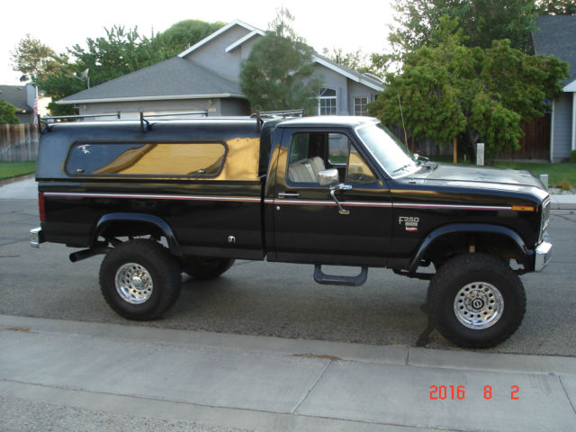 Ford 7 3 Diesel For Sale >> 1984 Ford F250 6.9L Diesel With Banks Turbo 4x4 Lifted Rebuilt Motor / Tranny for sale - Ford F ...