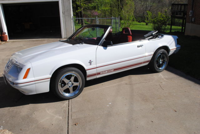1984 Ford Mustang Gt350 Convertible Anniversary Model Fabulous Collectors Car