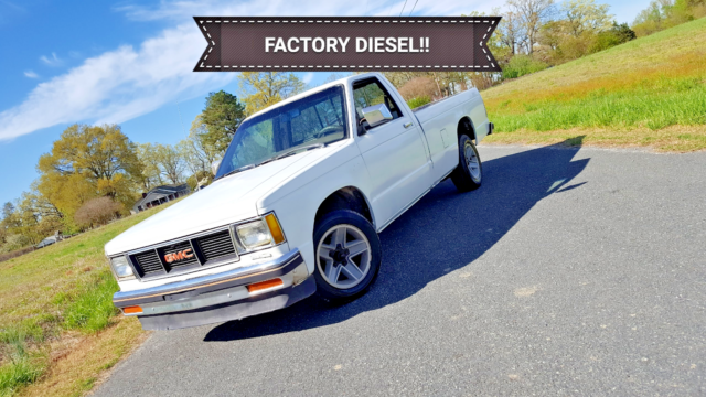 1984 Gmc S15 Factory 2 2l Isuzu Diesel Like Chevy S10 Luv Pup For Sale Gmc S15 1984 For Sale In Browns Summit North Carolina United States