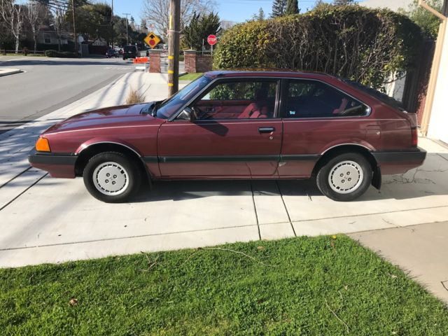 1984 honda accord lx hatchback low original for Honda accord old model