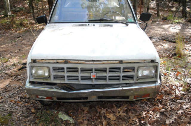 1984 isuzu diesel pickup truck pup long bed for sale isuzu pickup truck 1984 for sale in west. Black Bedroom Furniture Sets. Home Design Ideas