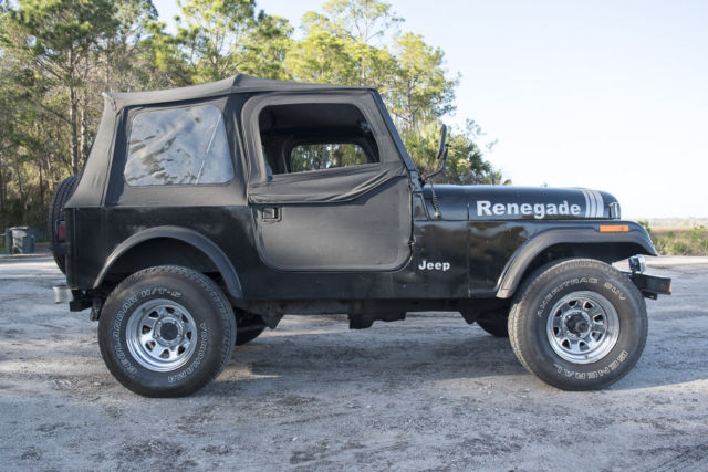 1984 jeep cj7 renegade sport utility 2 door 4 2l for sale jeep other 1984 for sale in atlantic. Black Bedroom Furniture Sets. Home Design Ideas