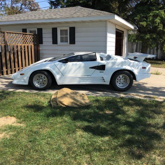 1984 Lamborghini Countach 25th Anniversary Edition For