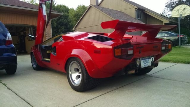1984 lamborghini countach fuel injected 5000 s for sale. Black Bedroom Furniture Sets. Home Design Ideas