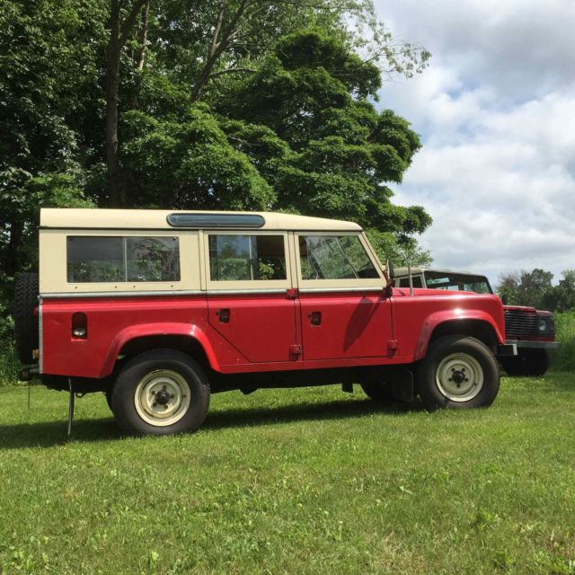 Land Rovers For Sale: 1984 Land Rover 110 V8, LHD Only 10,000 From New For Sale