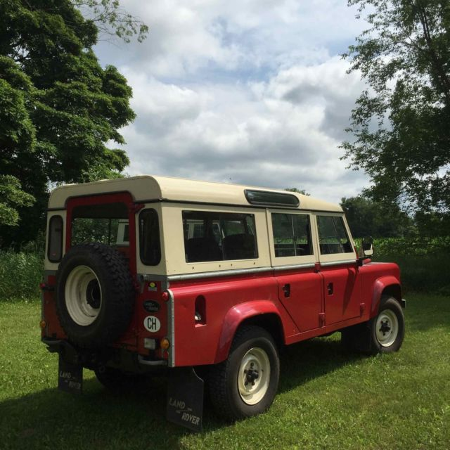 1984 Land Rover 110 V8, LHD Only 10,000 From New For Sale