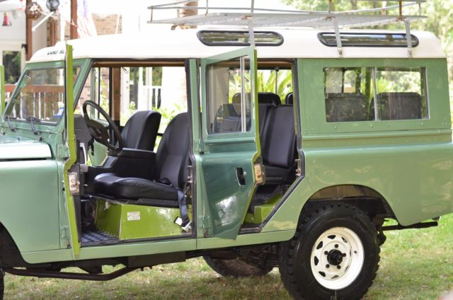 1984 Land Rover Defender 109 4x4 Left Hand Drive Texas