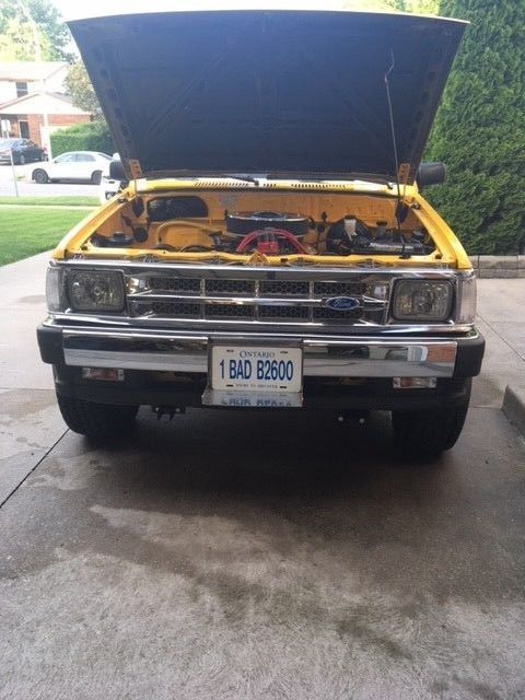 1984 Mazda B2600 4x4 totally restored Ford Racing Crate