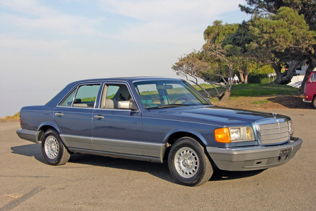 1984 Mercedes 300sd 74k Mile California Car Lapis Blue