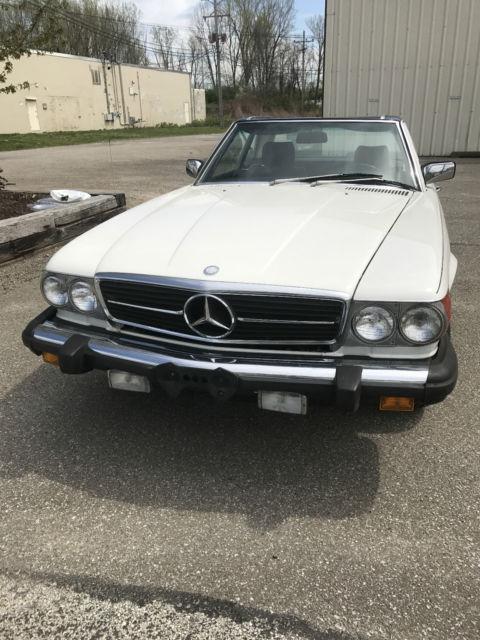 1984 mercedes 380 sl 21k original miles survivor car for for Mercedes benz erie pa