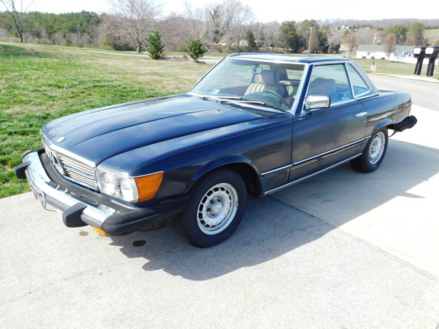 1984 mercedes 380sl convertible 101 381 miles midnight for 1984 mercedes benz 380sl for sale