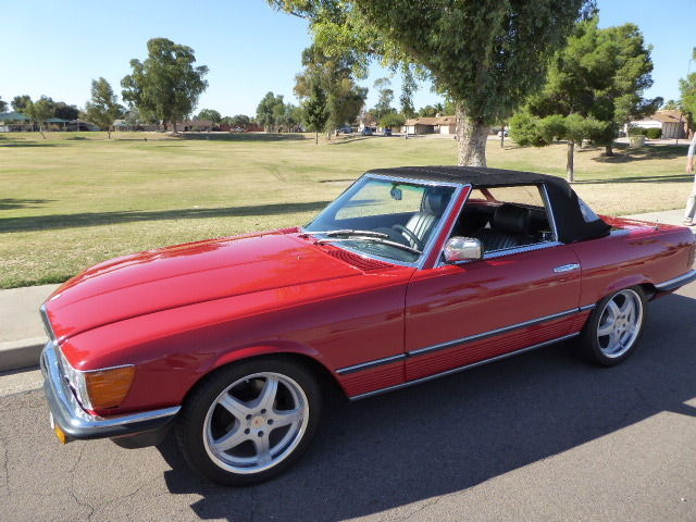 1984 mercedes benz 280sl euro convertible for sale for Mercedes benz sl550 convertible for sale