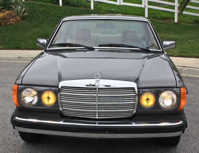1984 mercedes benz 300cd turbo diesel coupe low miles for Mercedes benz 300cd for sale