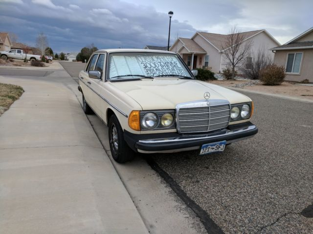 1984 mercedes benz 300d turbo diesel california car for for Mercedes benz 300 diesel