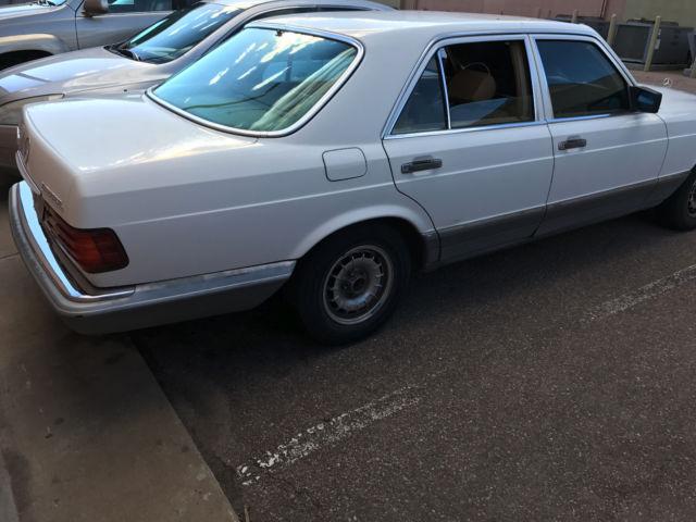 1984 mercedes benz 300sd clean title many new parts for Mercedes benz classic car parts