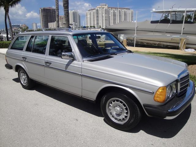 1984 mercedes benz 300td turbo diesel wagon 94k orig