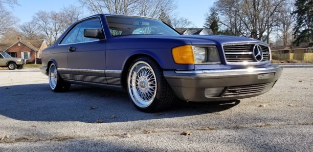 1984 mercedes benz 500sec v8 coupe 560sec sel eibach for Mercedes benz rims for sale