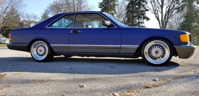 1984 mercedes benz 500sec v8 coupe 560sec sel eibach for Mercedes benz amg rims for sale
