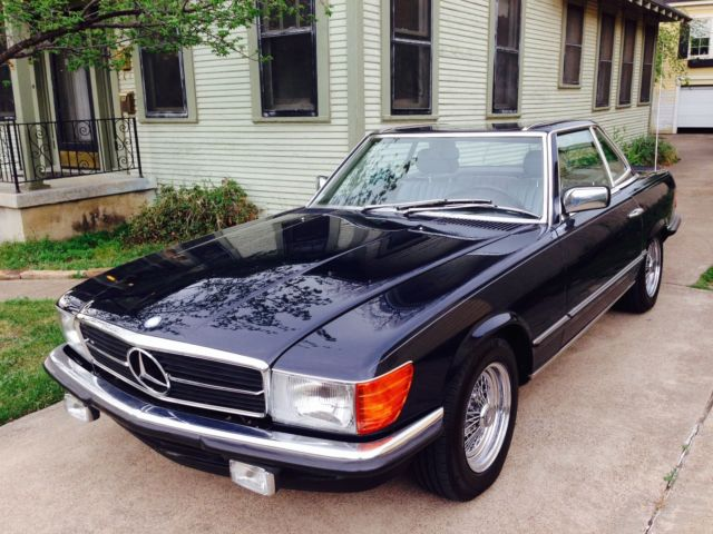 1984 mercedes benz 500sl european version all original for Mercedes benz dallas for sale