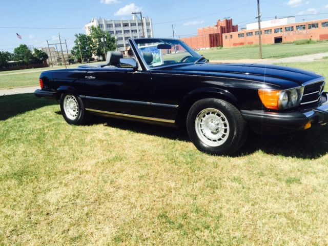 1984 mercedes benz sl 380 convertible with hardtop for for Mercedes benz sl convertible for sale