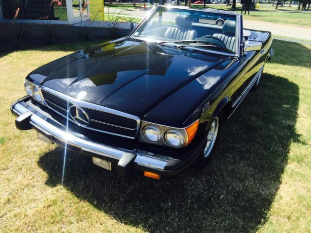 1984 mercedes benz sl 380 convertible with hardtop for for Hardtop convertible mercedes benz