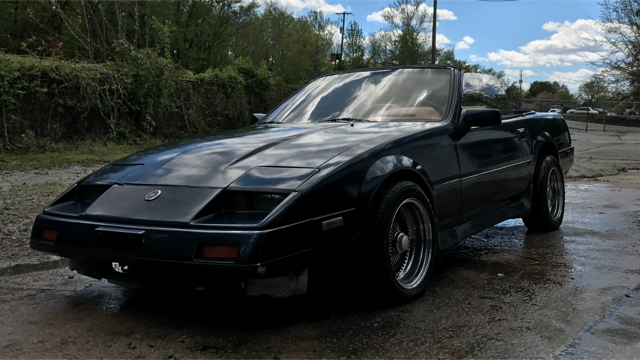 1984 nissan 300zx turbo straman covertible for sale datsun z series straman 1984 for sale in. Black Bedroom Furniture Sets. Home Design Ideas