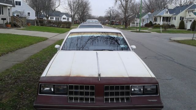 1984 Oldsmobile Cutlass Calais Sleeper-Street Rod, 442 Clone