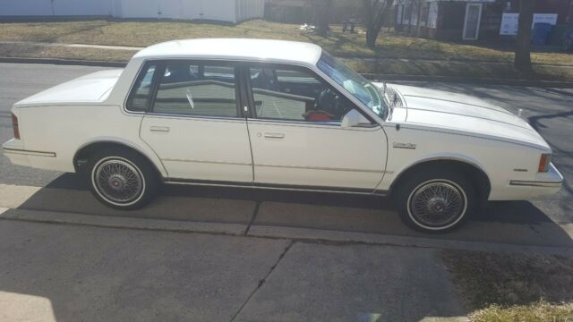 1984 Oldsmobile Cutlass Ciera Brougham Sedan, Garage kept