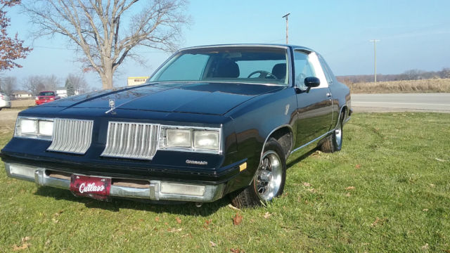 1984 OLDSMOBILE CUTLASS SUPREME 455 V8 TURBO 400 TRANNY