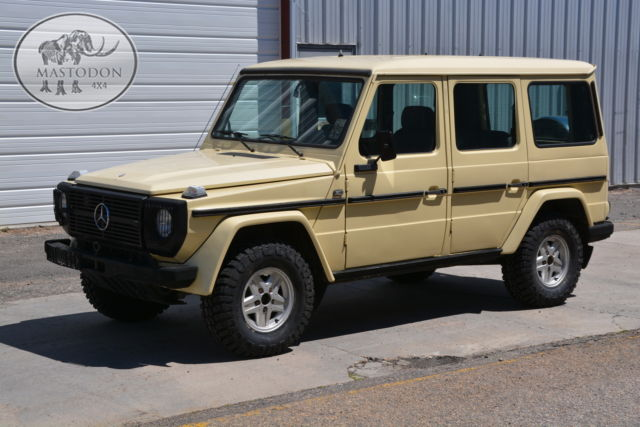 1984 Other G Wagon Gas 4 Door Hard Top For Sale Mercedes
