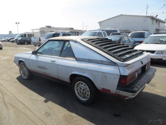 1984 Plymouth Turismo 2 2 Used 2 2l I4 8v Manual No