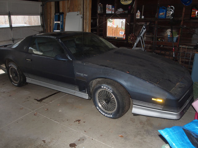 1984 pontiac firebird trans am for parts or project car chevy 327 engine t tops for sale pontiac trans am 1984 for sale in massillon ohio united states davids classic cars