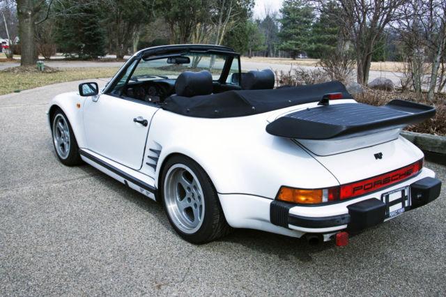 1984 porsche 911 carrera cabriolet convertible white 2 door 3 2l for sale porsche 911. Black Bedroom Furniture Sets. Home Design Ideas