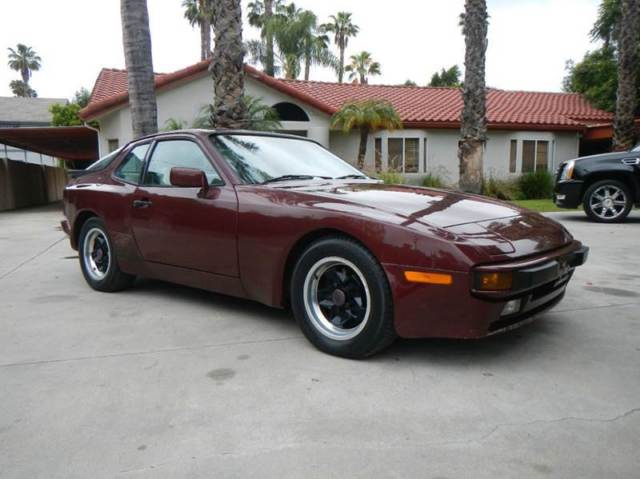 1984 porsche 944 1 owner southern california car original and good condition for sale porsche. Black Bedroom Furniture Sets. Home Design Ideas