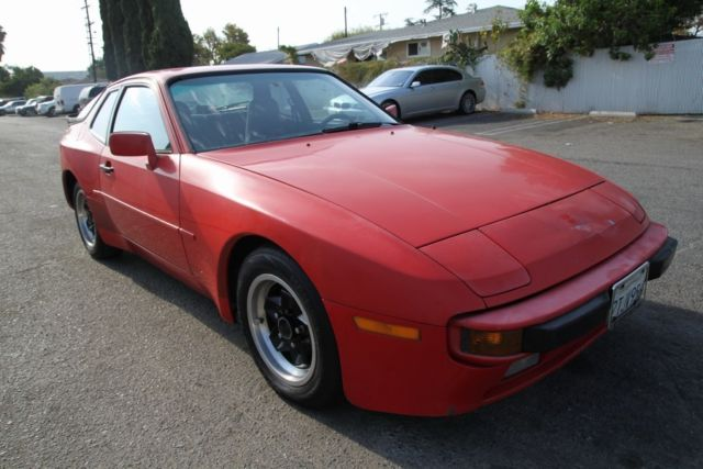 1984 porsche 944 s manual 4 cylinder no reserve for sale porsche 944 1984 for sale in orange. Black Bedroom Furniture Sets. Home Design Ideas