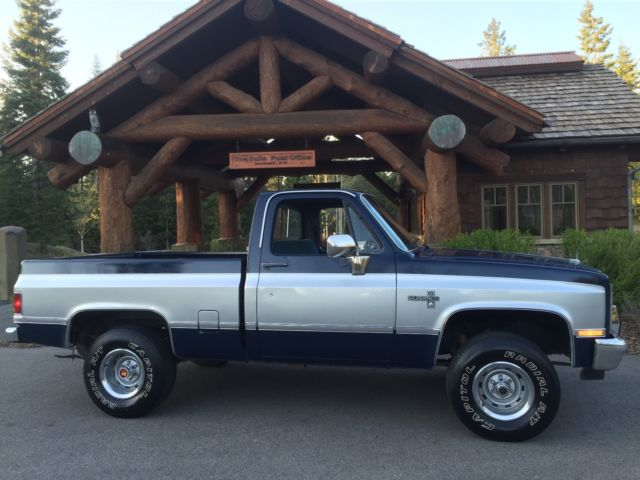 84 chevy 4x4 short bed
