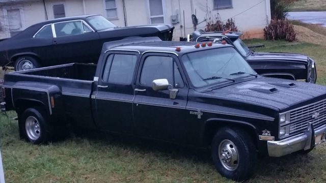 1984 silverado crew cab dully 454 for sale chevrolet c k pickup 3500 1984 for sale in forest. Black Bedroom Furniture Sets. Home Design Ideas