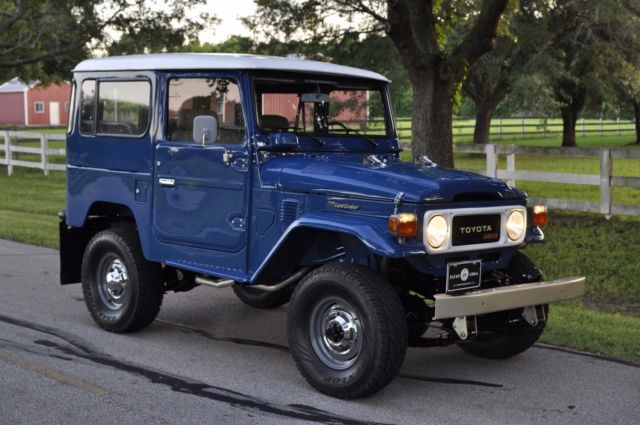 1984 toyota land cruiser bj40 diesel frame off pro restoration not fj40 fj45 for sale toyota. Black Bedroom Furniture Sets. Home Design Ideas
