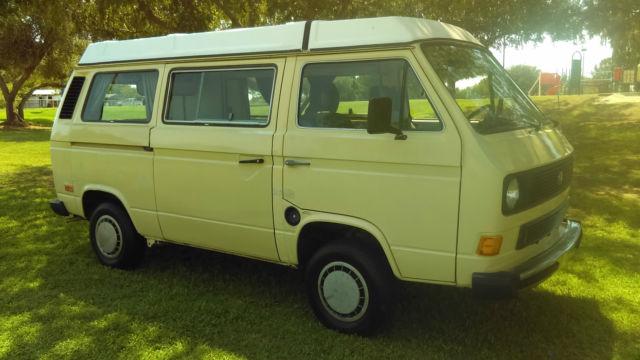 93096dfd30 1984 Volkswagen Vanagon Westfalia Van Camper 3-Door 1.9L for sale - Volkswagen  Bus Vanagon GL 1984 for sale in Mesa