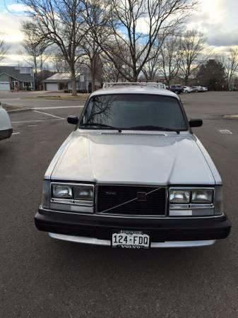 1984 Volvo 240/245 GLT! 89k Miles! Turbo, Manual! Survivor! for sale
