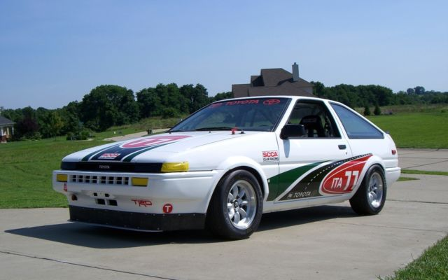 1985 ae86 toyota corolla trueno race car scca it b for sale toyota corolla 1985 for sale in. Black Bedroom Furniture Sets. Home Design Ideas