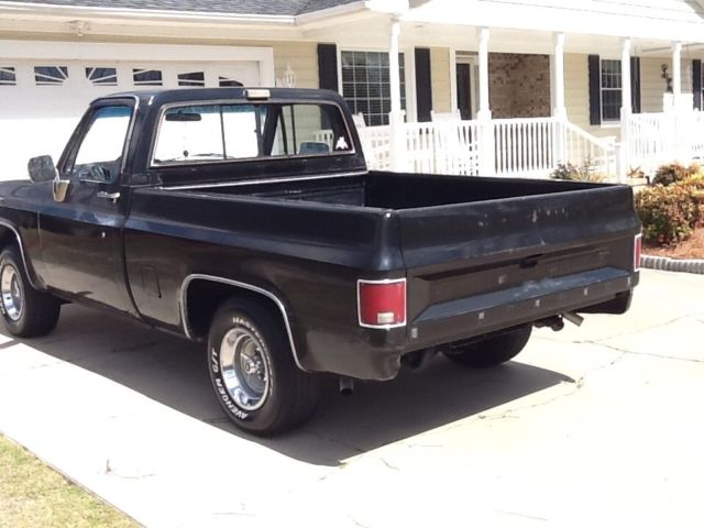 1985 black chevrolet silverado short bed truck for sale chevrolet silverado 1500 1985 for sale. Black Bedroom Furniture Sets. Home Design Ideas
