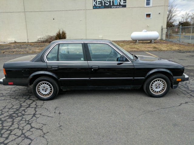 1985 bmw 318i 4 door manual transmission 1 owner black on. Black Bedroom Furniture Sets. Home Design Ideas