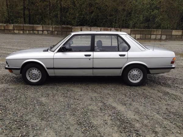 1985 BMW 520I—-PROFFESIONALLY INSTALLED LS3 V8–6 SPEED AND