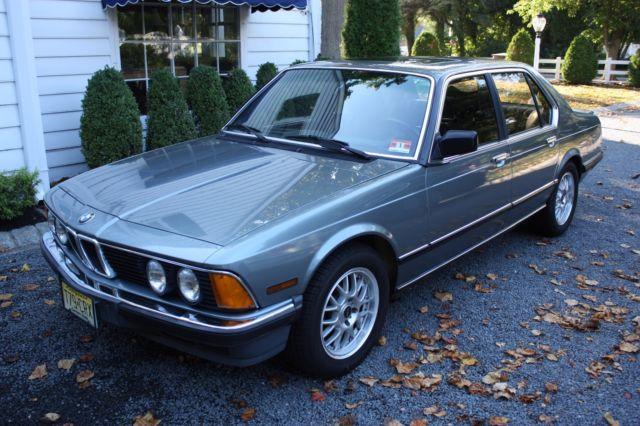 1985 BMW 7-Series 745i Turbo Gray Market 72K Miles for sale - BMW 7 ...