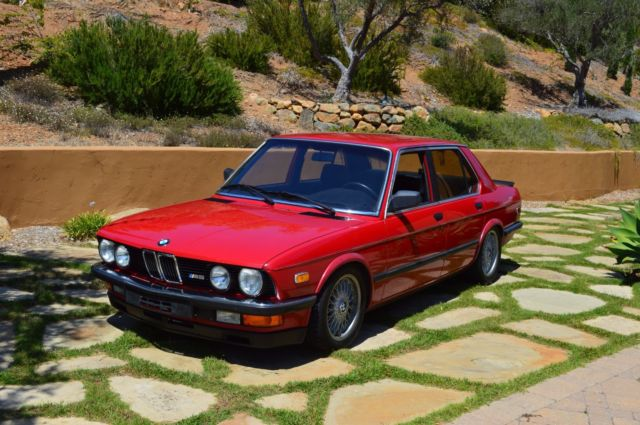 1985 bmw e28 euro 535i m5 conversion 300hp stock m88 or. Black Bedroom Furniture Sets. Home Design Ideas