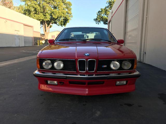 1985 Bmw M635csi Euro E24 M6 Not E30 M3 E28 M5 For Sale